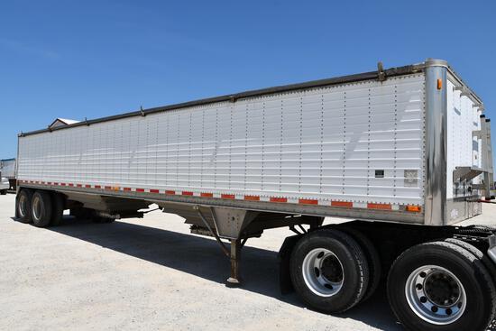 2003 Wilson 41' aluminum hopper bottom trailer