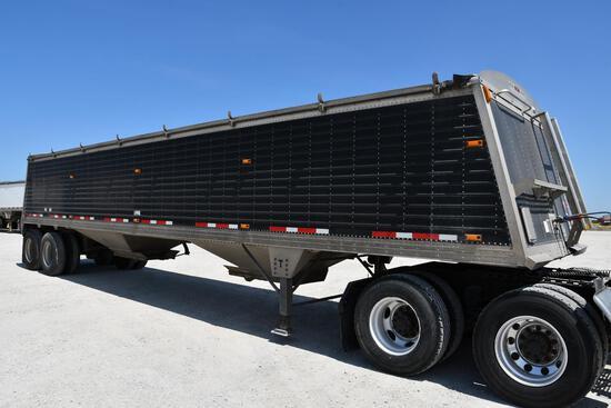 2011 Timpte 40' aluminum hopper bottom trailer