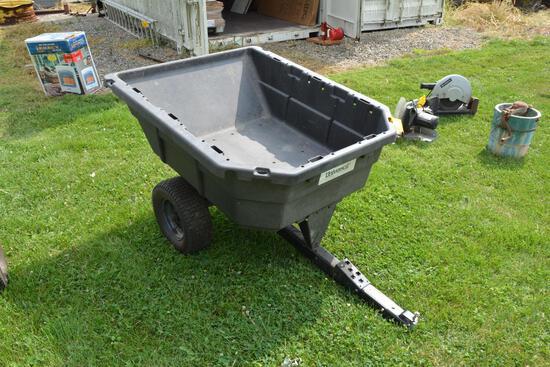 Poly yard cart