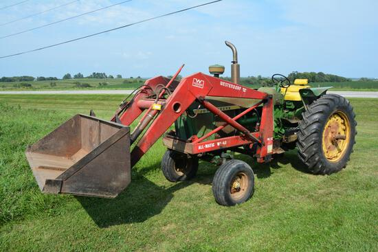John Deere 4010 diesel tractor