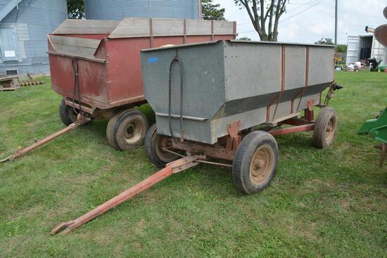 Wards 10' flare box wagon w/ Wards running gear