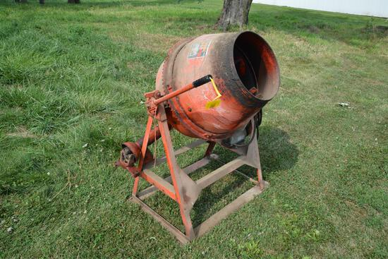 Montgomery Wards concrete mixer