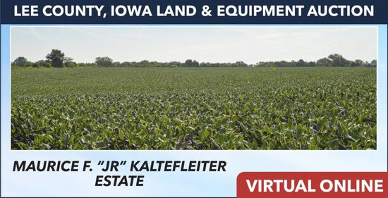 Lee County, IA Land Auction - Kaltefleiter