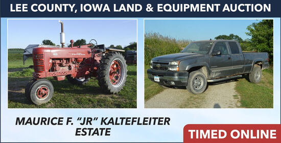 Lee County, IA Equipment Estate - Kaltefleiter