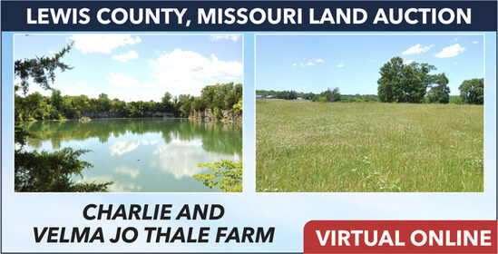 Lewis County, MO Land Auction - Thale