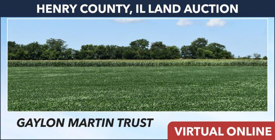 Henry County, IL Land Auction - Martin