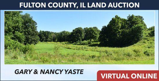 Fulton County, IL Land Auction - Yaste