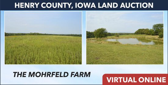 Henry County, IA Land Auction - Mohrfeld
