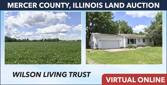 Mercer County, IL Land Auction - Wilson