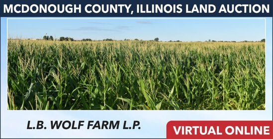 McDonough County, IL Land Auction - Wolf