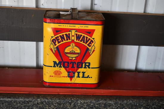 Penn-Wave Motor Oil 2 gallon can