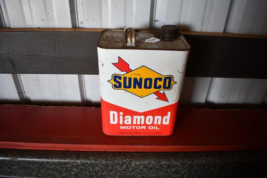 Sunoco Diamond Motor Oil 2 gallon can