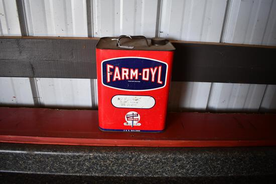 Farm-Oyl Motor Oil 2 gallon can