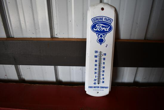 Ford Genuine Parts tin thermometer