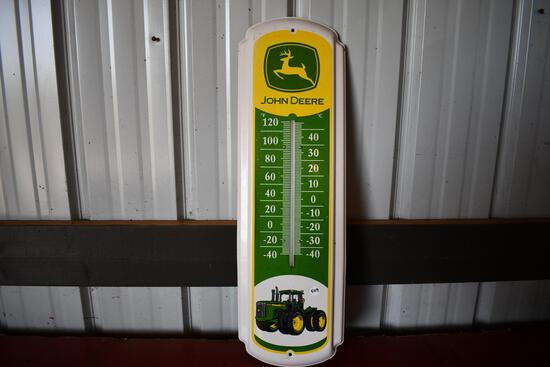 John Deere 9420 tin thermometer