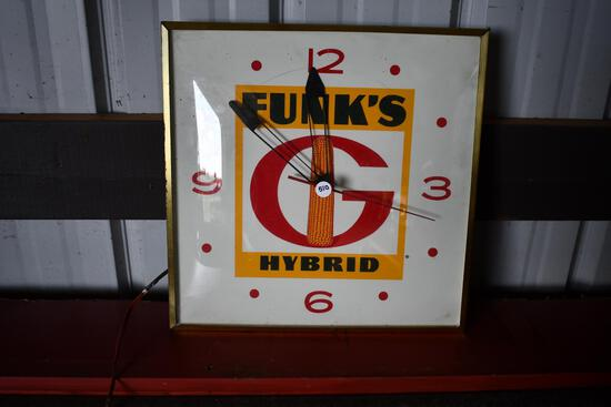 Funk's G Hybrid electric wall clock