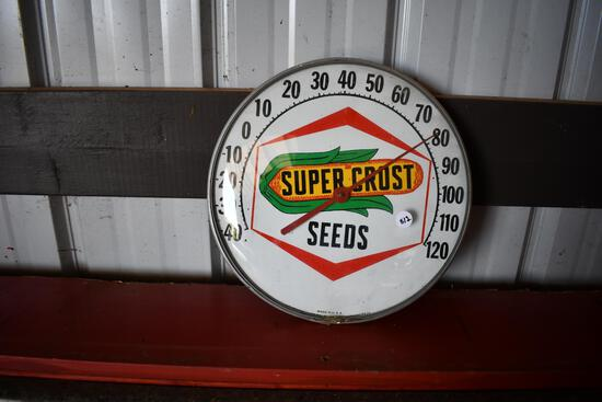 Supercrost Seeds round thermometer