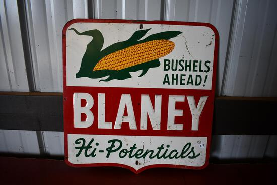 Blaney Hi-Potentials tin sign