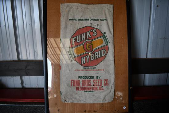 Fun's G Hybrid cloth seed sack in frame