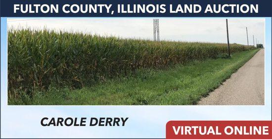 Fulton County, IL Land Auction - Derry