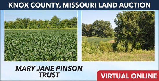 Knox County, MO Land Auction - Pinson