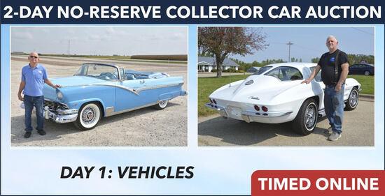 Day 1: No Reserve Collector Car & Memorabilia