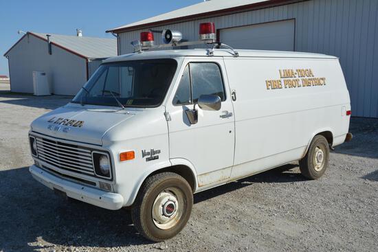 1970 GMC Van