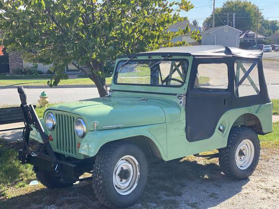 1965 Willys Jeep Tuxedo Park Mark IV