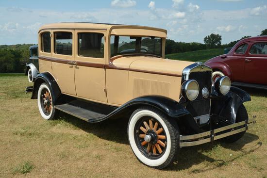 1930 Plymouth 4 door sedan