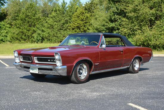 1965 Pontiac Tempest-GTO Convertible