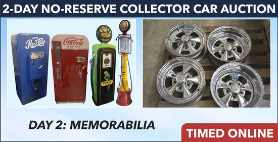 Day 2: No Reserve Collector Car & Memorabilia