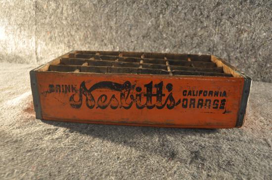 Wooden Nesbitts Orange soda crate