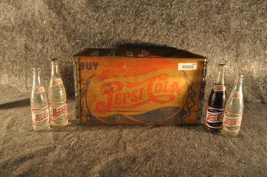 wooden Pepsi-Cola crate
