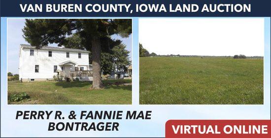 Van Buren County, IA Land Auction - Bontrager
