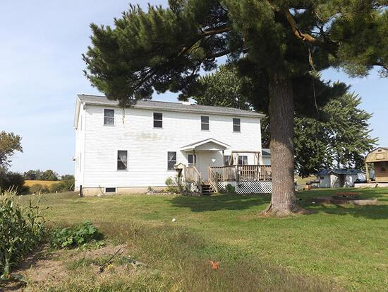 Tract 1 - Home, Shop on 8.69 Surveyed Acres