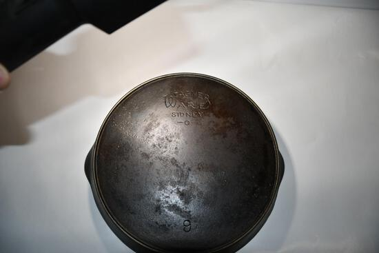 Wagner Ware #9 Cast Iron Skillet