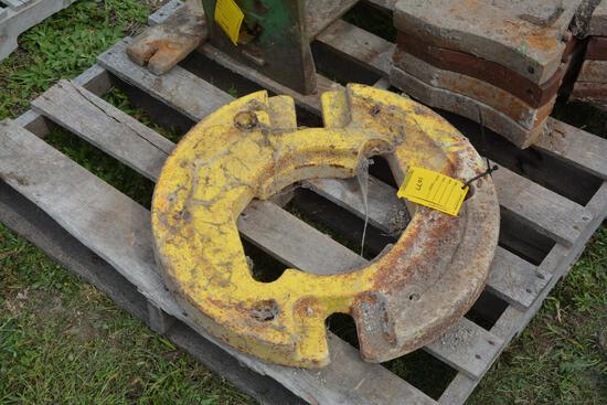 John Deere rear wheel weight