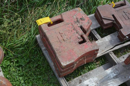 (4) International suitcase weights