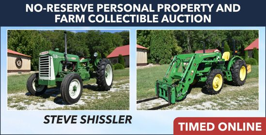 Ring 1 - Pers Prop & Farm Collectibles - Shissler