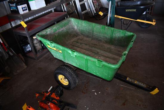 John Deere 10P pull type lawn cart