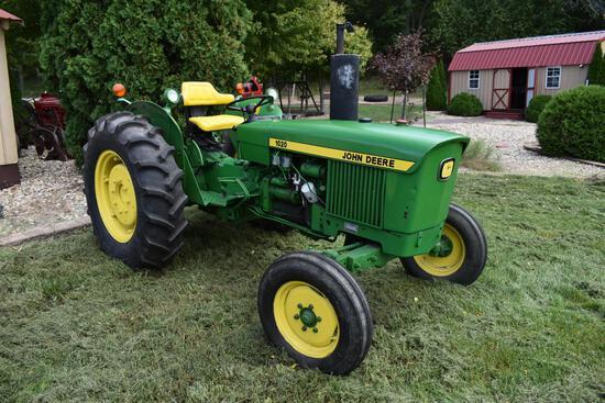 John Deere 1020 2wd diesel tractor