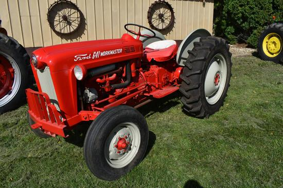 Ford 641 Workmaster 2wd gas tractor