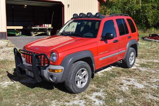 2003 Jeep Liberty Sport 4X4 SUV