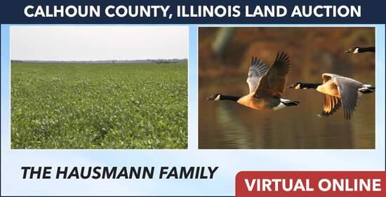 Calhoun County, IL Land Auction - Hausmann