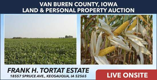 Van Buren County, IA Land Auction - Tortat