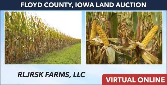 Floyd County, IA Land Auction - RLJRSK Farms