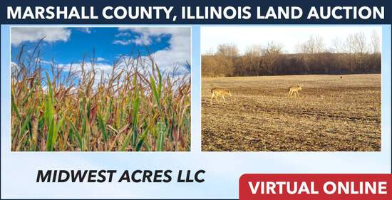 Marshall County, IL Land Auction - Midwest Acres