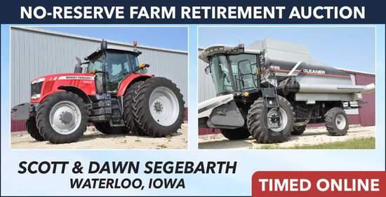 No-Reserve Farm Retirement Auction - Segebarth