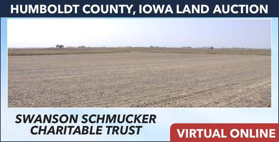 Humboldt County, IA Land Auction - Schmucker