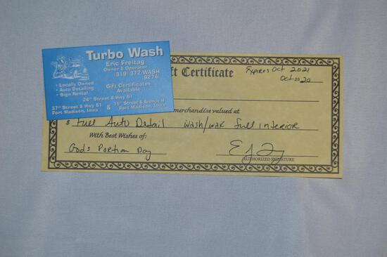 Full auto detail (wash, wax & full interior) (2734)
